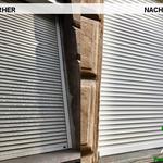 Vorher, Nacher, Meixner Fensterputzer, Strassenschmutz