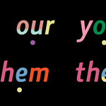 British English: the pronunciation of weak forms shown by dots
