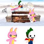 アプリゲーム「Chamaru border 2」 キャラクター2点制作
