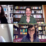 """Online-Seminar """"Beruf und Praxis Literaturübersetzen"""" an der Universität Basel 2020 (mit Tanja Handels, Florence Widmer und Steven Wyss)"""