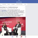 Mit Rolf Schmiedel auf der Frankfurter Buchmesse 2017