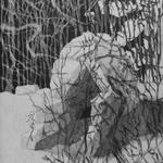 2017, Aquatinta und Kaltnadel, 15x10 cm