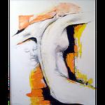 """""""Emotion 2""""  Acryl auf Leinwand  80x100 cm"""