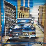 graffiti coche Cubano
