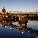 Pont Neuf, Toulouse de nuit