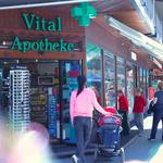 Die Vitalapotheke liegt an der Bahnhofstrasse 5 in Zermatt
