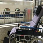 リクライニング車椅子 新幹線