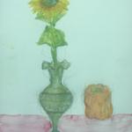 ヒマワリとパプリカ / Sunflower and Paprika.