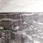 インド最南端 ( ヴィヴェーカーナンダロック ) / The INDIAN southern point.  ( Vivekananda rock. )