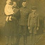 Familie Kurt Neitsch im Herbst 1942.