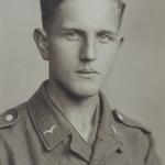 Ernst Neinaß als Wehrmachtssoldat