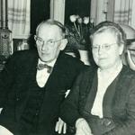Richard und Helene Neinaß, geb. Röpnack, 1958 zur Hochzeit in Retschow