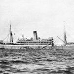 """Das Schiff """"Kurfürst"""" im Jahr 1903."""