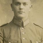 Kurt Neitsch als Reichswehrsoldat um 1919 in Bautzen.