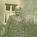 Pauline Bräuer, geb. Zänker um 1940 in Seelingstädt.