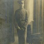 Kurt Neitsch als Freikorpssoldat um 1919 in Bautzen