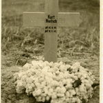 Das Grab von Kurt Neitsch auf dem Waldfriedhof in Riga.