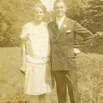 Milda Neitsch, geb. Bräuer und Kurt Neitsch um 1930.
