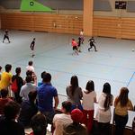 Trotz der heißen Temperaturen kamen Fußballbegeisterte zum Endspiel des Turniers.