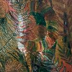 Farne I  - Das Farnblatt entrollt sich zögerlich zu seiner vollen Größe, grünt, lebt auf in seiner Frische, wird in der Sonne durchscheinend weiß um dann den Weg ins verhaltene Rotbraun und Ocker zu finden.