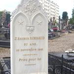 La tomba di Rimbaud a Charleville