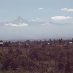 Majestätisch, der Mount Kenia