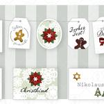 Weihnachtskarten Clipart