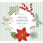 Clipart, Weihnachtskranz