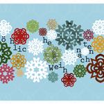 Papiersterne Weihnachten