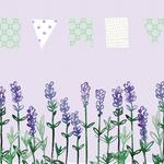 Lavendelfeld, Wimpelkette