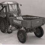 Fendt F220 GT (19PS) mit Verdeck, Messerbalken, Pritsche