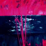 301 Gebündelte Energie, Acryl auf Leinwand, Elsa von Blanc, 80 x 60 cm