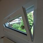 Kippfenster dreiecksform