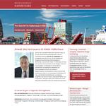 Webseite Rechtsanwalt Hake
