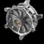 Radnabe für Motorad-Speichenrad (Aluminiumguss, Beschichtet, 5-Achs-Simultanfrästeil)