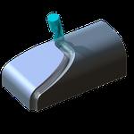 5-Achs-Fräsen (Freiformfräsen, CAD/CAM, Simulation)