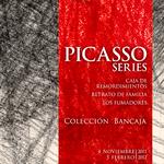 PICASSO SERIES. Cartel de la exposición en el Museo Munal de México.