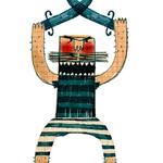 Tattoos para Londji. Ilustraciones y Packaging de Julio Antonio Blasco. Colección de 10 calcomanías piratas.