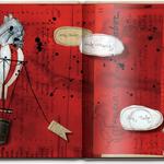 REFLEXIONES EN TORNO A LA MUERTE /// textos aavv, ilustraciones de Julio Antonio Blasco, Sr. López. 25 x 25 cm. 40 pp. editado por Synergias de Prensa, Serveis Funeraris de Barcelona y Funerarias Mémora, 2012.  Pendiente de publicación.
