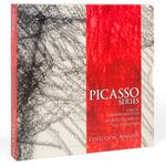 PICASSO SERIES. Caja contenedora para tres catálogos.