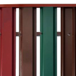 Заборы из металлического штакетника в Красноармейске