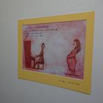 会堂内には素敵なイラストとみことばが飾られました。