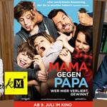 Mama gegen Papa - Papa ou Maman - Marina Fois - Laurent Lafitte - Tobis - kulturmaterial