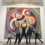 Musée d'Art Moderne de la Ville de Paris / Ryhtmes de Robert Delaunay