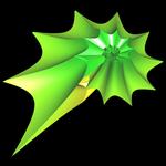 Supershape auf Basis Torus - spiralförmig 3