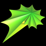Supershape auf Basis Torus - spiralförmig 2