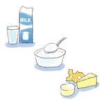 乳製品のイラスト