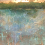 The Forest Beyond The Lake (50x60cm)
