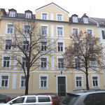 Denkmalschutz Fassade eines Wohnhauses - München