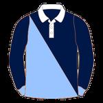 "Rugbyhemd ""Diagonale Hälften"""